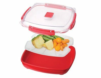 Sistema Microwave Plate with Removable Poaching/Cooking Tray