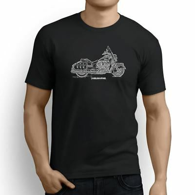 Indian Chief Vintage Inspired Motorcycle Art Men's T-Shirt