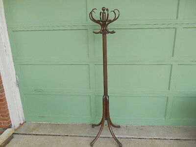 Rare Vintage Bentwood Hall Tree Coat Rack Pittsburgh Office & Furniture Company?