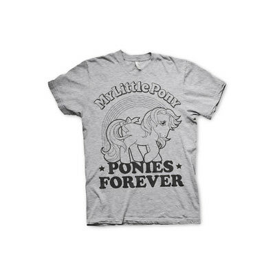 Officially Licensed My Little Pony- Ponies Forever Men's T-Shirt S-XXL Sizes