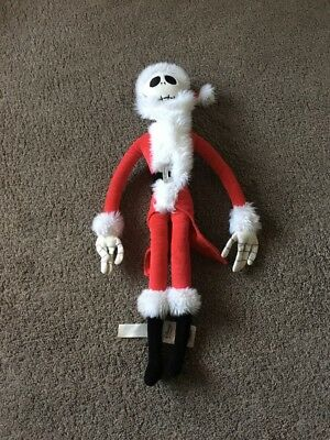 The Nightmare Before Christmas Jack Sandy Claws Soft Toy