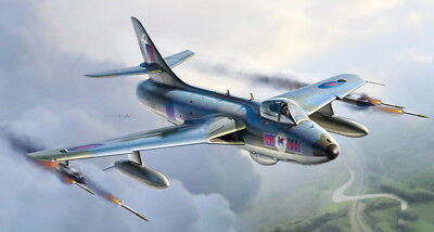 IT2708 ITALERI 1/48 Hawker Hunter FGA6/FGA9