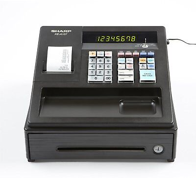 Sharp XEA-107 Entry Level Cash Register with LED Display XEA107