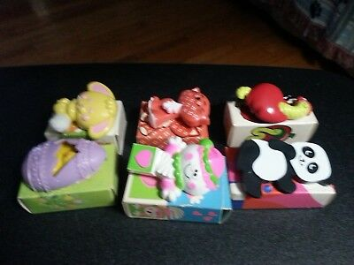 Vintage lot of 6 kids Avon pins in the original boxes
