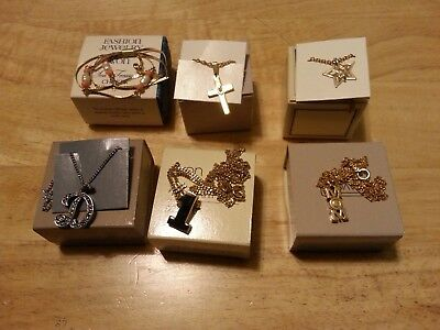 Vintage lot of 6 Avon necklaces in the original boxes