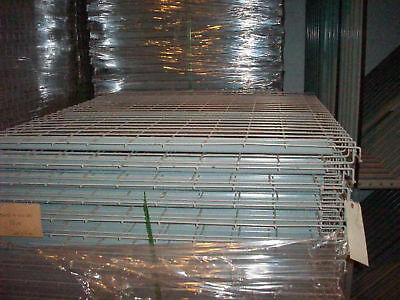 "42"" x 46"" Wire Mesh Decking Waterfall Front & Back 3C"