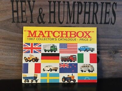 Matchbox Katalog UK Edition 3D very nice no scripted from 1967