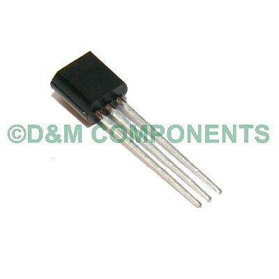 2SC458, C458 (C) NPN Silicon, Epitaxial Transistor, Pack of 5, 10, 20 or 50