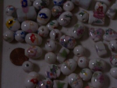 Beads porcelain chinese lot/collection