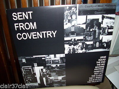 V/a Sent From Coventry Lp Squad Kbd Rare Punk Unplayed