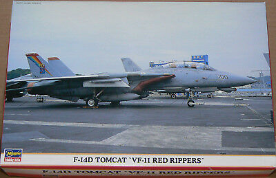 F-14 D Tomcat VF-11 Red Rippers 1/72 Hasegawa Limited