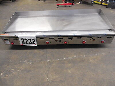 """2232 New S/D - Wolf 72"""" Thermostat Controlled Griddle, Model: ASA72-101"""