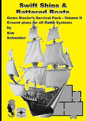 Game Master´s Survival Pack: Swift Ships & Battered Boats, roleplaying sketches