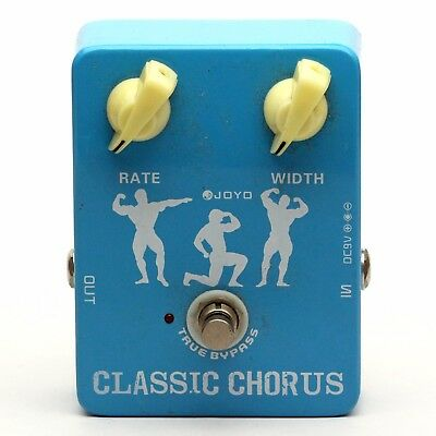 JOYO CLASSIC CHORUS Guitar Effect Pedal : Battery Cover MISSING