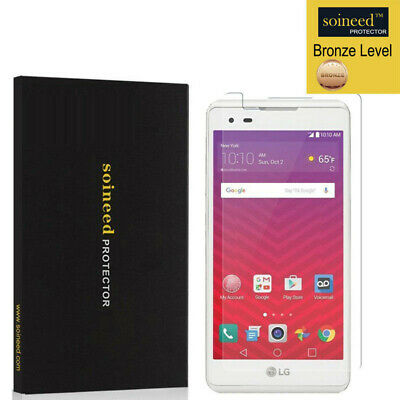 [3-PACK] SOINEED Tempered Glass Screen Protector For LG Tribute HD LS676