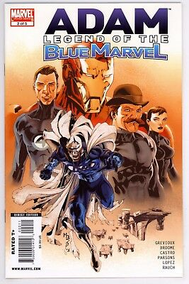 Adam: Legend of the Blue Marvel (2008) #2 NM Scarce Issue