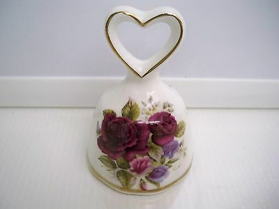 Bell Fine Bone China Shelly Ann Collection Made In England Heart  And Roses