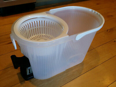 DELUXE HURRICANE SPIN MOP Foot-Operated Washer Dryer BUCKET REPLACEMENT