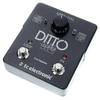 TC Electronic Ditto X2 Looper Pedal 5 Minuten stereo Stopschalter *wie neu*