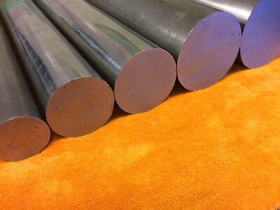 "BRIGHT MILD STEEL Round Bar Rod Billet Spacer 3/16"" to 2"" Dia up to 1000mm long"