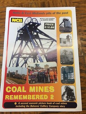 Coal Mines Remembered 2 - historical mining book - Brand New