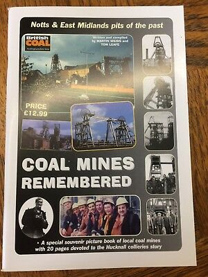 Coal Mines Remembered - historical mining book - brand new.