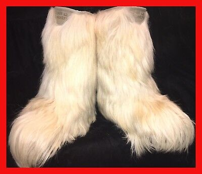 Winter Is Coming! Vintage Roluc Ideal Goat Hair Boots! Sz 8/9