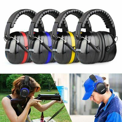 Portable 34dB Highest NRR Ear Muffs Hearing Protection Ear Defender with Noise