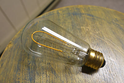 LED Edison Bulb ST18, Curved Vintage Hairpin Filament, 4 watt (40w), Dimmable