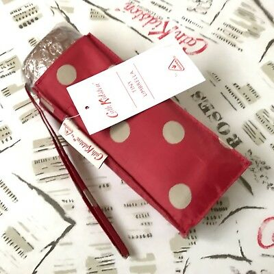 Genuine CATH KIDSTON x FULTON Red Spot Umbrella NEW with Tags