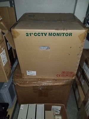 "ARM Electronics C21M 21"" High Resolution Color CRT Monitor"