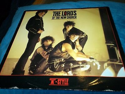 The Lords of the New Church - M-Style, 12 Inch Vinyl, IRSY113