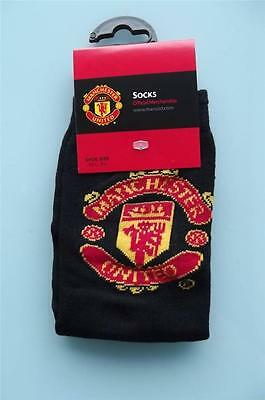 (soc526) man utd brand new official Manchester United socks size 4 - 6.5 BNIP