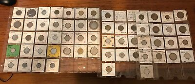 OLDER ASIA COIN LOT // 67 COINS IN ALL // Japan, China, Korea, Vietnam 1900's-70