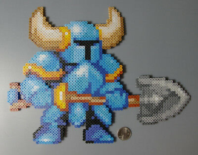 Shovel Knight Yacht Club Games Perler Beads