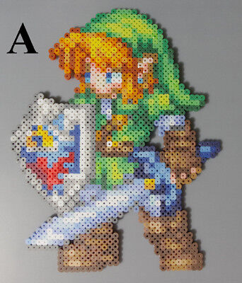 Link Legend of Zelda Ocarina of Time Nintendo Perler Beads