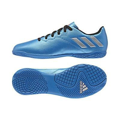 New adidas Messi 16.4 Boys trainers UK 4.5 / 5 / 5.5 Blue indoor football shoe