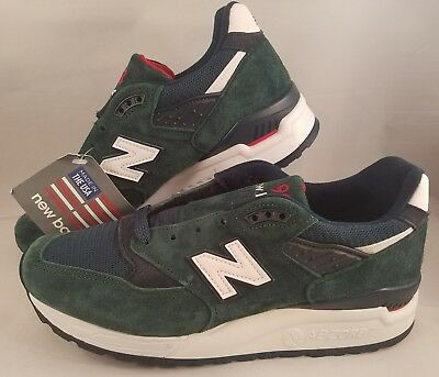 new arrivals b8d9d 11dbc NEW BALANCE 998 Age of Exploration Running Shoes Size 5 USA M998CHI Green  White