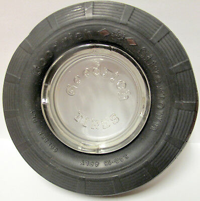 Goodrich Rubber Tire Ashtray, Antique Goodrich Collectible!!! 10 DAYS ONLY! L@@K
