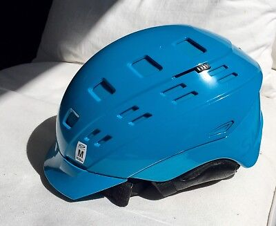 Smith Variant Brim Ski Helmet Cyan Medium