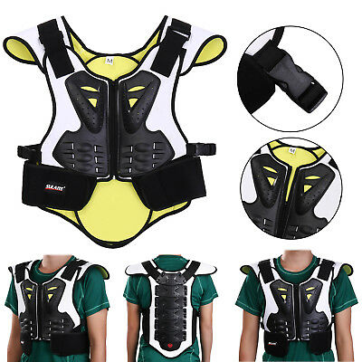 Unisex Motocross Racing Armor Vest Chest Body Protector Guard Motorcycle Gear