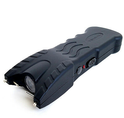 VIPERTEK 162 Billion Volt Rechargeable LED Light Heavy Duty Stun Gun