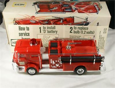 Hess 1970 Fire Truck With Box Gas Oil Advertising 17 Photos