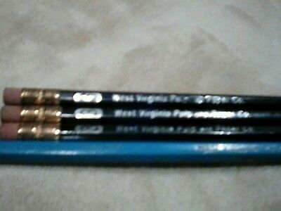 West Virginia Pulp and Paper Co. Pencils Vintage West Virginia