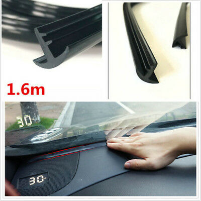 Rubber 1.6m Soundproof Dustproof Sealing Strip Auto Car Windshield Dashboard Cn6