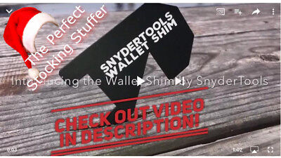 10 - Wallet Shim - Lockout Tool Entry LOCKSMITH Stocking Stuffer !
