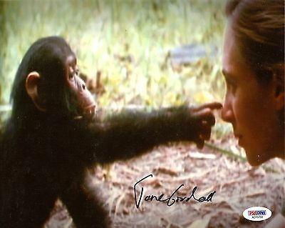 Jane Goodall Primatologist Signed 8x10 Photo PSA DNA Certified Autograph Auto *3