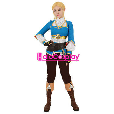 Breath of the Wild Princess Zelda Cosplay Costume Outfit The Legend of Zelda