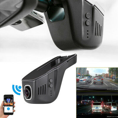 Hidden 1080P Wifi DVR Car Dashboard Camera Video Recorder G-Sensor Night Vision