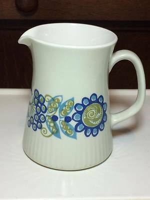 Vintage Figgjo Flint ceramic cream jug made in Norway